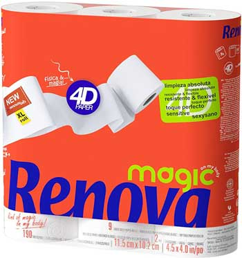 Papel higiénico magic-renova