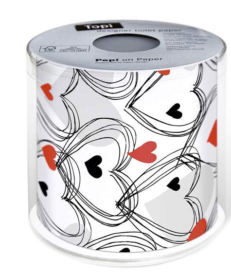 papel-higiénico-corazones-rojos-y-negros