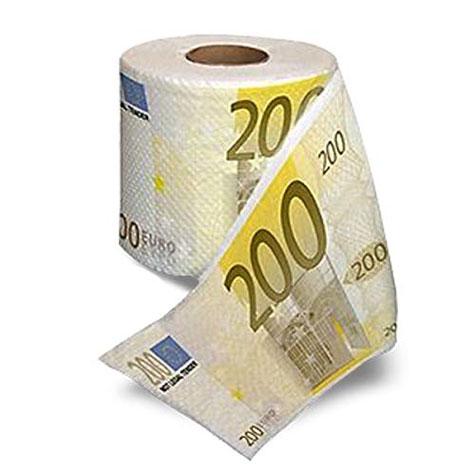 papel-higiénico-de-billetes-de-200€