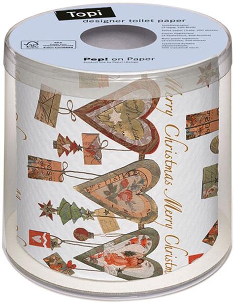 papel-higiénico-de-corazones-Navidad