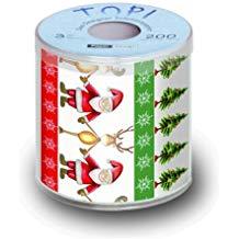 papel higiénico navidad