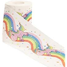 papel higiénico unicornio