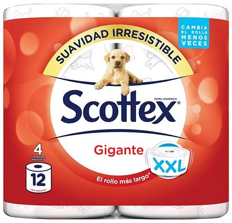papel higiénico scottex gigante
