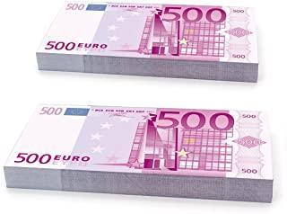 papel higiénico de billetes de 500